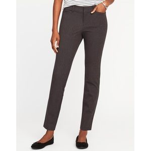 Old Navy Skinny Cropped Dress Pants Grey Small